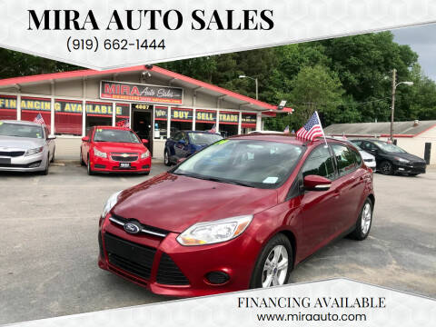 2014 Ford Focus for sale at Mira Auto Sales in Raleigh NC