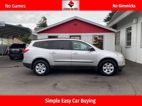 2012 Chevrolet Traverse for sale at Cars To Go in Portland OR