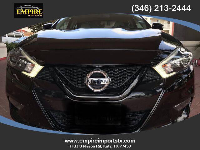2018 Nissan Maxima for sale at EMPIREIMPORTSTX.COM in Katy TX