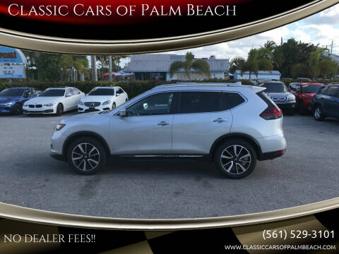 2019 Nissan Rogue for sale at Classic Cars of Palm Beach in Jupiter FL