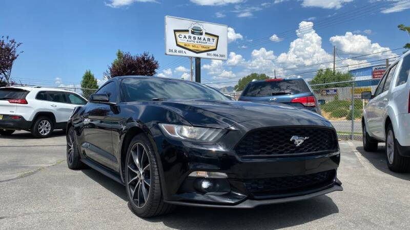 2016 Ford Mustang for sale at CarSmart Auto Group in Murray UT