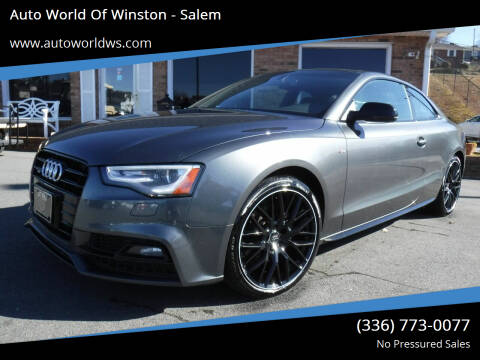 2017 Audi A5 for sale at Auto World Of Winston - Salem in Winston Salem NC