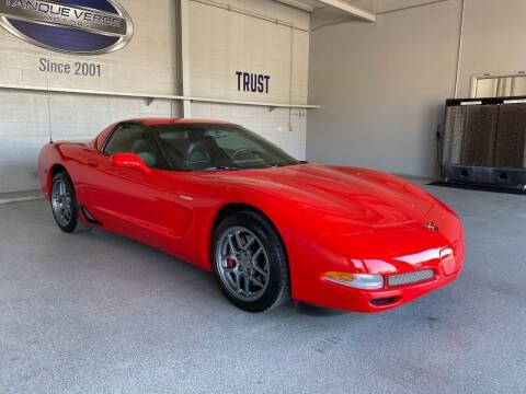 2001 Chevrolet Corvette for sale at TANQUE VERDE MOTORS in Tucson AZ
