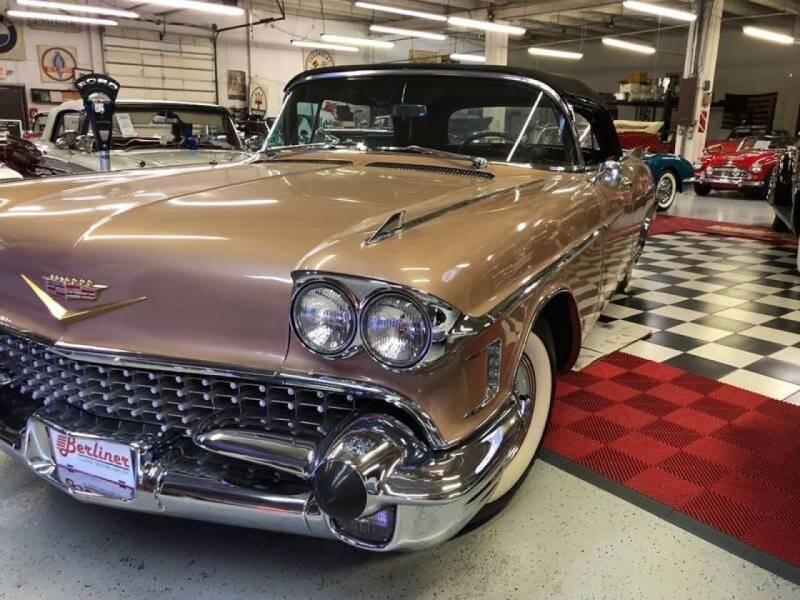 1958 Cadillac Eldorado Biarritz for sale at Berliner Classic Motorcars Inc in Dania Beach FL
