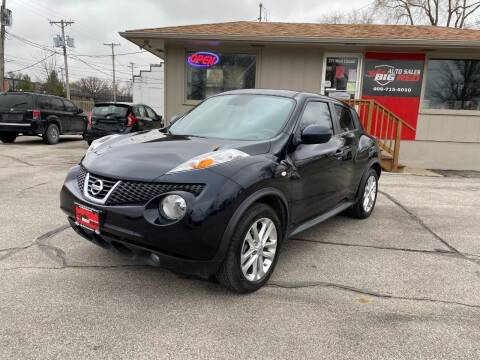 2012 Nissan JUKE for sale at Big Red Auto Sales in Papillion NE