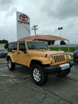 2013 Jeep Wrangler Unlimited for sale at Quality Toyota in Independence KS