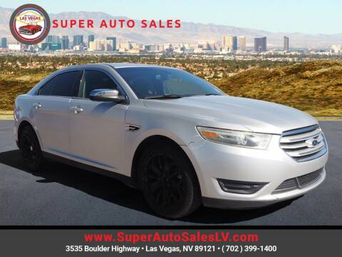 2013 Ford Taurus for sale at Super Auto Sales in Las Vegas NV