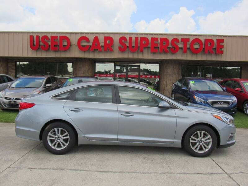 2015 Hyundai Sonata for sale at Checkered Flag Auto Sales NORTH in Lakeland FL
