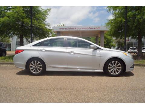 2014 Hyundai Sonata for sale at BLACKBURN MOTOR CO in Vicksburg MS
