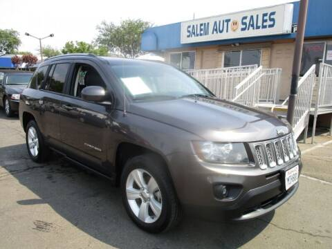2016 Jeep Compass for sale at Salem Auto Sales in Sacramento CA
