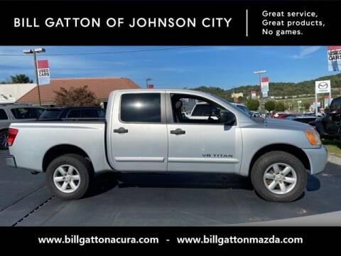 2011 Nissan Titan for sale at Bill Gatton Used Cars - BILL GATTON ACURA MAZDA in Johnson City TN