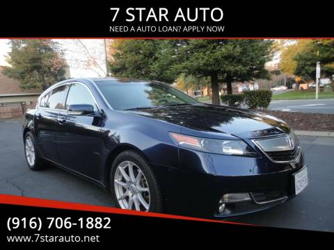 2013 Acura TL for sale at 7 STAR AUTO in Sacramento CA