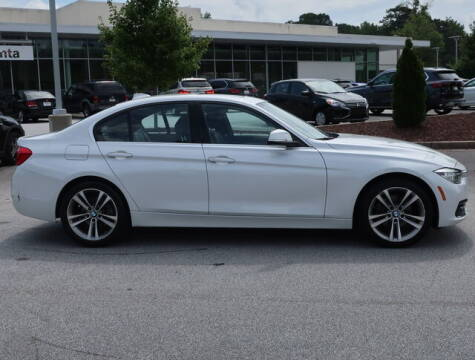 2017 BMW 3 Series for sale at Southern Auto Solutions - BMW of South Atlanta in Marietta GA