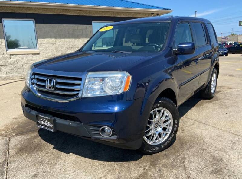 2013 Honda Pilot for sale at Auto House of Bloomington in Bloomington IL