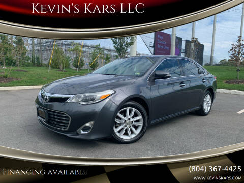 2013 Toyota Avalon for sale at Kevin's Kars LLC in Richmond VA