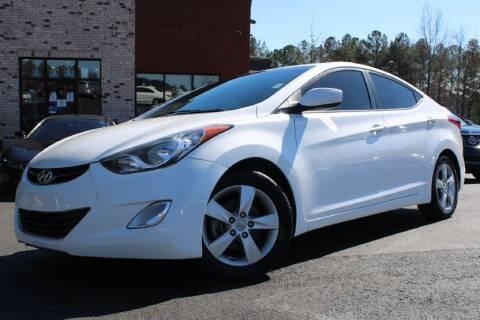 2013 Hyundai Elantra for sale at Atlanta Unique Auto Sales in Norcross GA