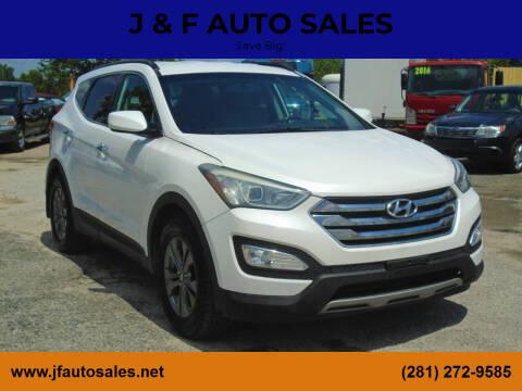 2013 Hyundai Santa Fe Sport for sale at J & F AUTO SALES in Houston TX
