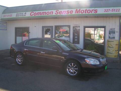2008 Buick Lucerne for sale at Common Sense Motors in Spokane WA