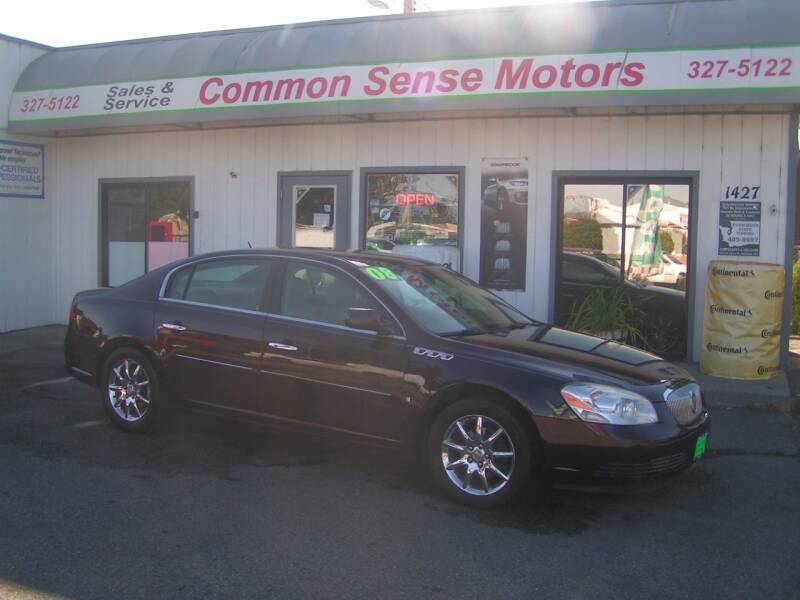 2008 Buick Lucerne for sale at Common Sense Motors in Spokane WA