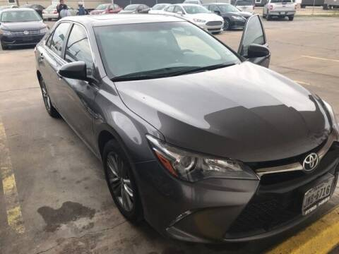 2017 Toyota Camry for sale at FREDY KIA USED CARS in Houston TX
