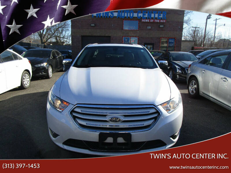 2013 Ford Taurus for sale at Twin's Auto Center Inc. in Detroit MI