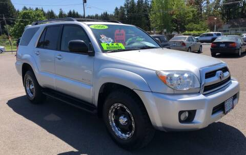 2006 Toyota 4Runner for sale at Freeborn Motors in Lafayette, OR