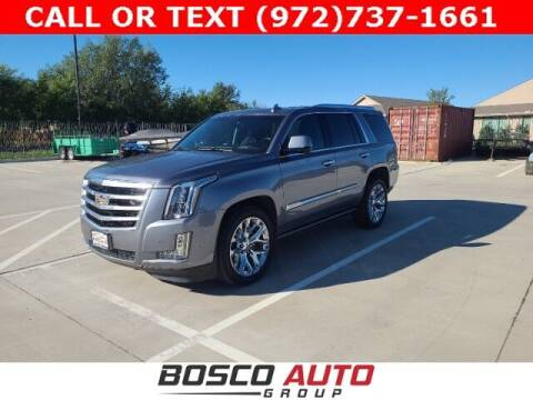 2018 Cadillac Escalade for sale at Bosco Auto Group in Flower Mound TX
