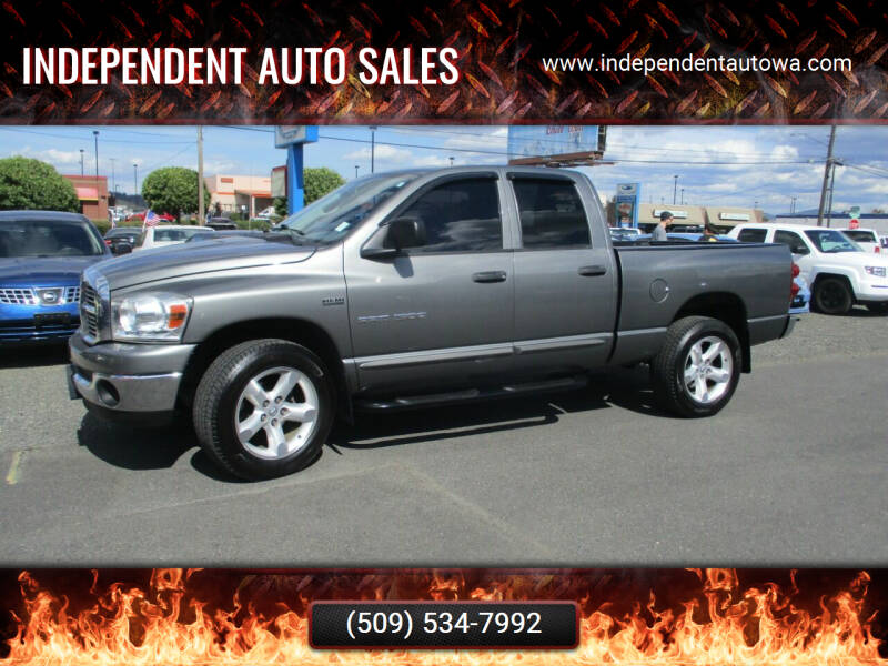 2007 Dodge Ram Pickup 1500 for sale at Independent Auto Sales in Spokane Valley WA