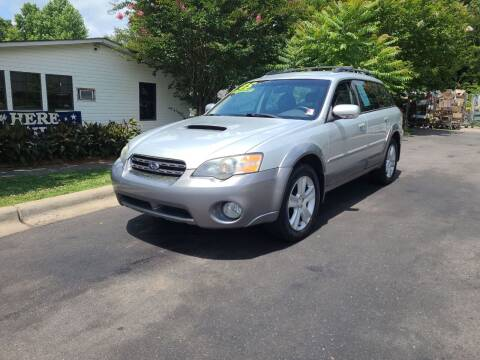 2005 Subaru Outback for sale at TR MOTORS in Gastonia NC