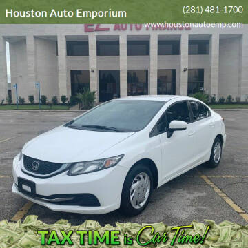 2014 Honda Civic for sale at Houston Auto Emporium in Houston TX