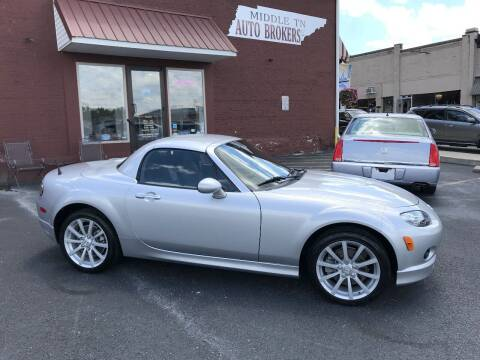 2007 Mazda MX-5 Miata for sale at Middle Tennessee Auto Brokers LLC in Gallatin TN