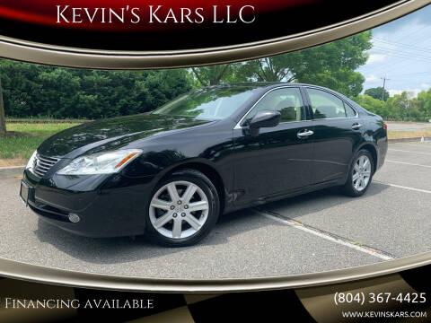 2007 Lexus ES 350 for sale at Kevin's Kars LLC in Richmond VA