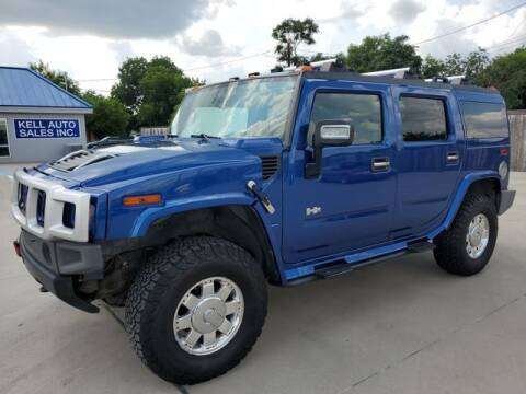 2006 HUMMER H2 for sale at Kell Auto Sales, Inc - Grace Street in Wichita Falls TX