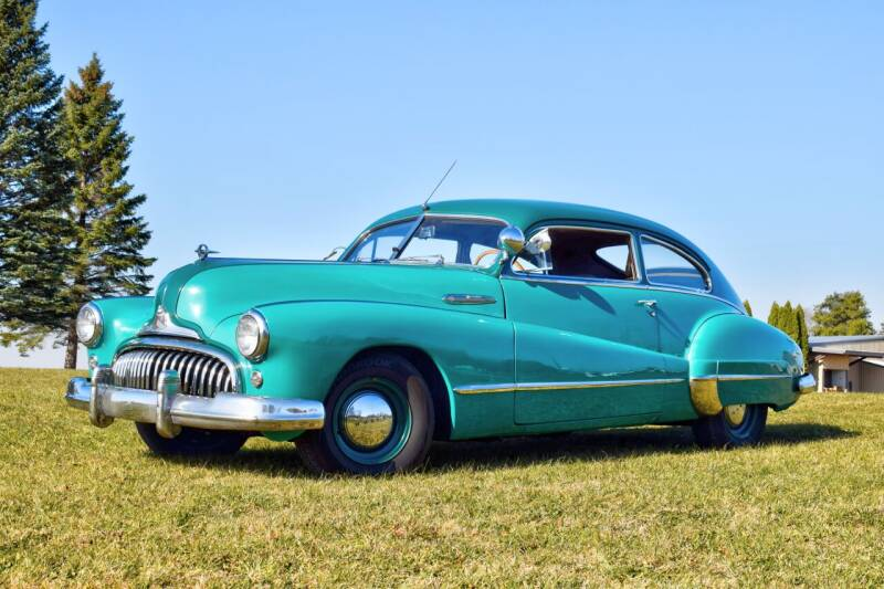 1947 Buick Sedanette for sale at Hooked On Classics in Watertown MN