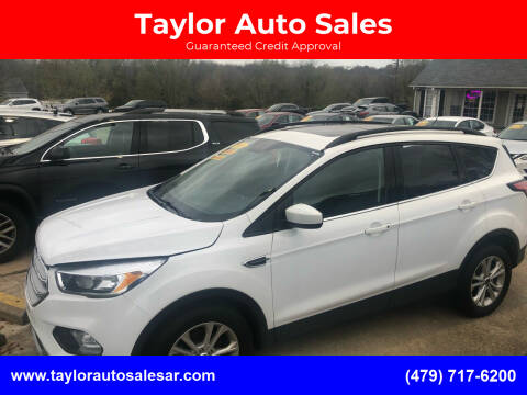 2018 Ford Escape for sale at Taylor Auto Sales in Springdale AR