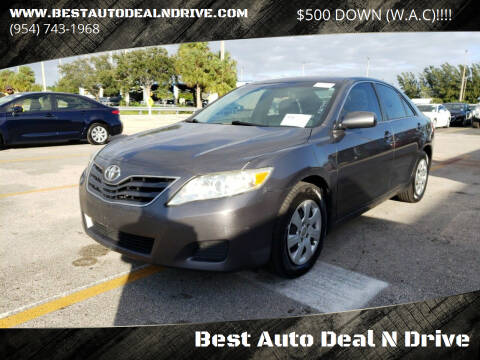 2011 Toyota Camry for sale at Best Auto Deal N Drive in Hollywood FL