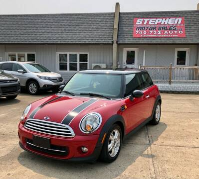 2013 MINI Hardtop for sale at Stephen Motor Sales LLC in Caldwell OH