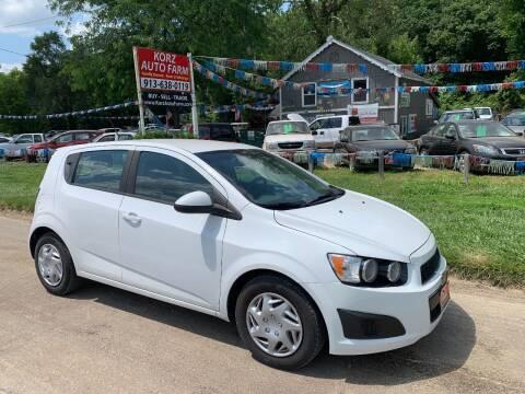 2013 Chevrolet Sonic for sale at Korz Auto Farm in Kansas City KS