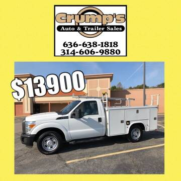 2011 Ford F-350 Super Duty for sale at CRUMP'S AUTO & TRAILER SALES in Crystal City MO