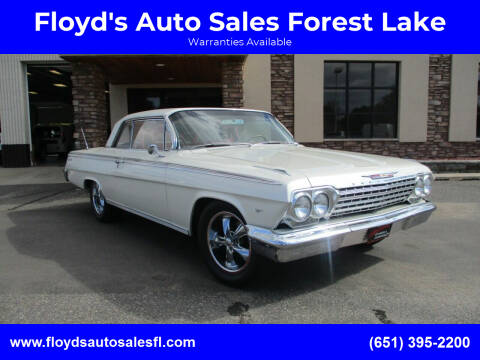 1962 Chevrolet Impala for sale at Floyd's Auto Sales Forest Lake in Forest Lake MN