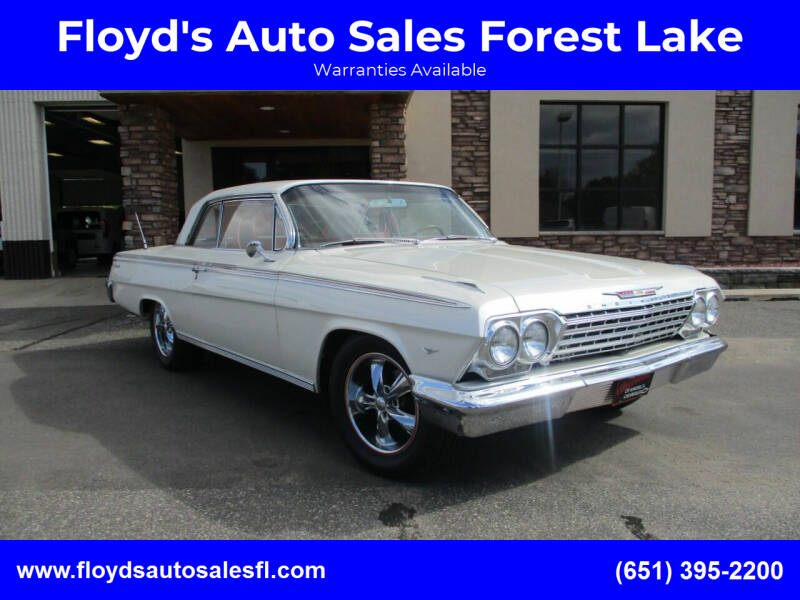1962 Chevrolet Impala for sale in Forest Lake, MN