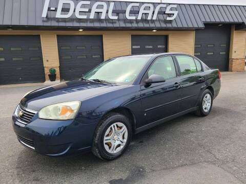 2006 Chevrolet Malibu for sale at I-Deal Cars in Harrisburg PA