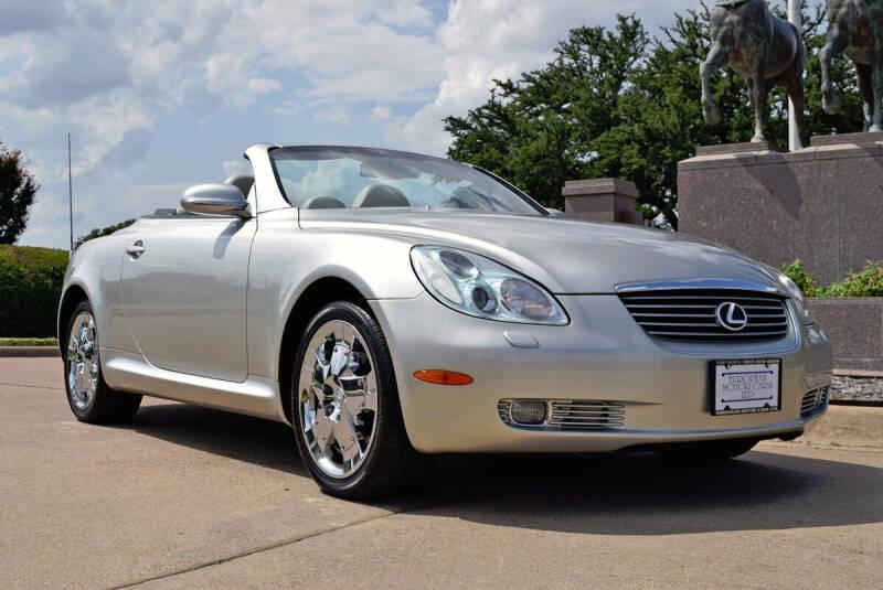 2005 Lexus SC 430 for sale at European Motor Cars LTD in Fort Worth TX