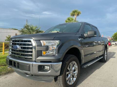 2016 Ford F-150 for sale at GCR MOTORSPORTS in Hollywood FL