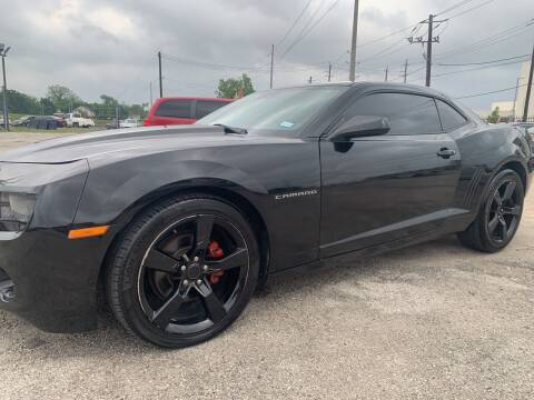 2010 Chevrolet Camaro for sale at FAIR DEAL AUTO SALES INC in Houston TX