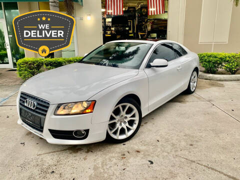 2010 Audi A5 for sale at AUTOSPORT MOTORS in Lake Park FL
