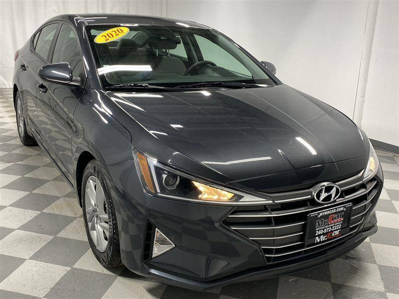 2020 Hyundai Elantra for sale at Mr. Car City in Brentwood MD