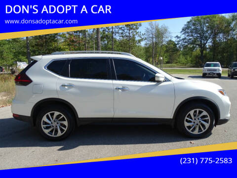 2018 Nissan Rogue for sale at DON'S ADOPT A CAR in Cadillac MI