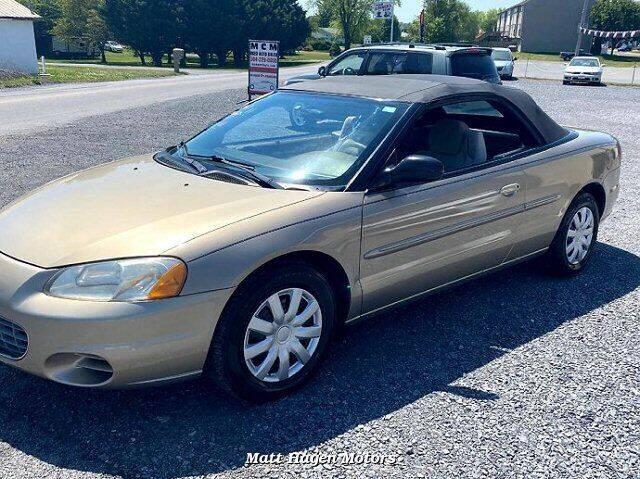 2003 Chrysler Sebring for sale at Matt Hagen Motors in Newport NC