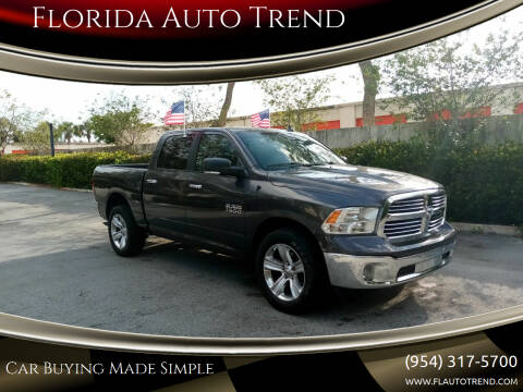 2014 RAM Ram Pickup 1500 for sale at Florida Auto Trend in Plantation FL